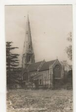Weybridge, St. James Church RP Postcard, B355