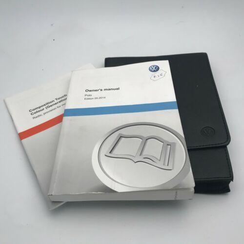 VW VOLKSWAGEN POLO  OWNERS HANDBOOK MANUAL PACK 2013 To 2018 Inc VAT