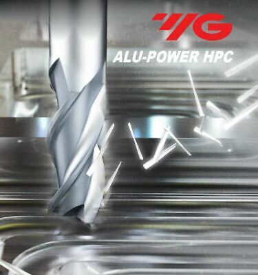 ".625/""LOC 5//8/"" 3FL Square End DLC Coated Carbide End Mill 37Deg ALU-POWER HPC"