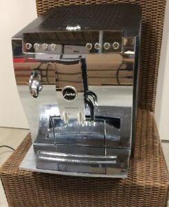 Jura-Impressa-Z5-chrom-Kaffee-Kaffeemaschine-Kaffeevollautomat-defekt-Bastler