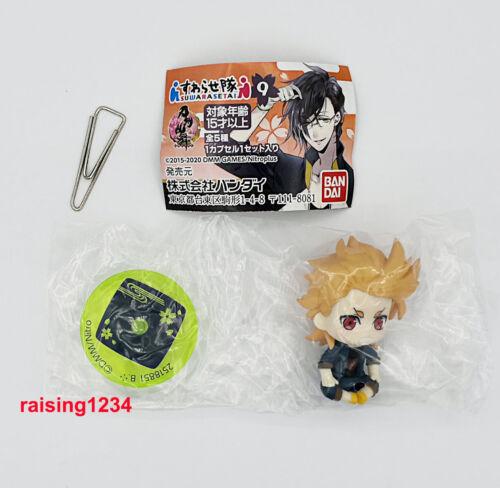 Bandai Touken Ranbu Online 9 Suwarasetai Petit Figure Gashapon set 5 pcs