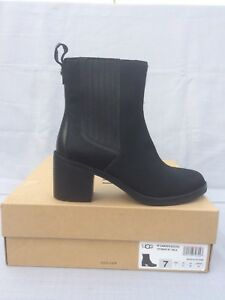 cd05cbc3df1 Details about UGG CAMDEN EXOTIC Stacked Heel Cow Hair Ankle Boot, Womens US  7 1018645