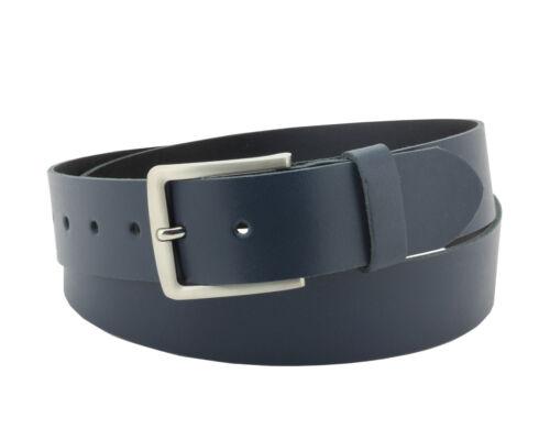 Damen//Herren Ledergürtel 4cm breit Jeans Gürtel Zonarius Hüftgürtel 100/% Leder