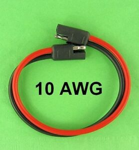 Details about Premium Grade SAE 2 Wire Heavy Duty Quick Connect 10 on