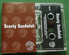 Scanty Sandwich Because of You Cassette Tape Single - TESTED