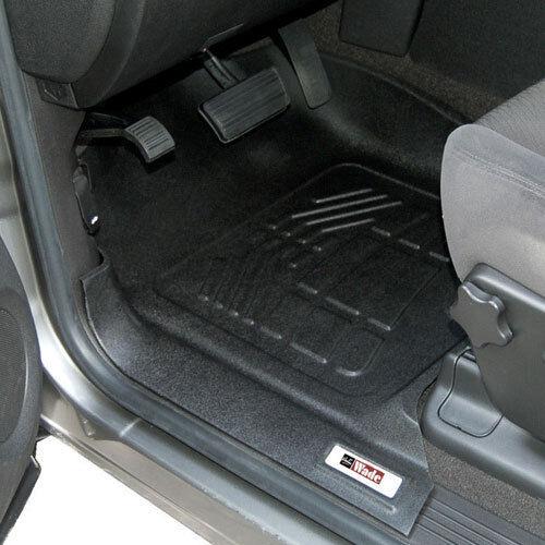 Dodge Ram 2009 - 2012 Reg / Quad Cab Sure-Fit Floor Mats Liners Front - Black