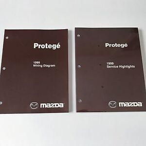 1999 Mazda Protege OEM Workshop Wiring Diagram & Service ...