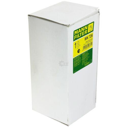 Original Homme-Filtre carburant filtre WK 726 Fuel Filtre