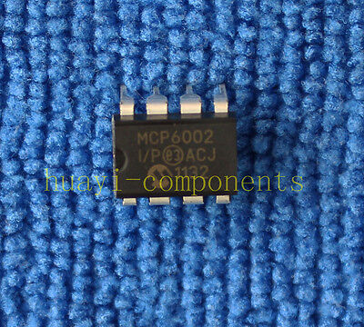 5pcs MCP6002-I/P MCP6002 ORIGINAL 1 MHz Bandwidth Low Power Op Amp DIP-8