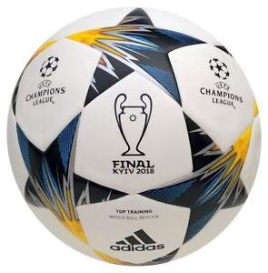 Details zu Adidas Finale 18 Kiew 2018 Top Trainingsball nahtlos CL Fußball Ball CF1204