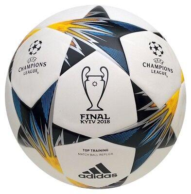 Adidas Finale Kiew 2018 Top Trainingsball nahtlos Champions League Fußball Ball | eBay