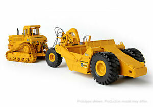 Details about CCM Cat D9L Tractor with Towed 631E Scraper 1/48 Caterpillar  MC-12