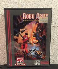Robo Army Neo Geo AES US
