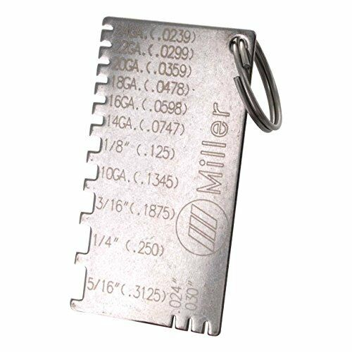 Miller 229895 Gage Wire Metal Sizes By Miller Electric Different Sizes New