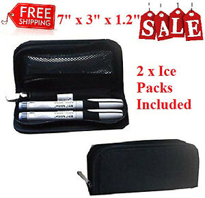 Myabetic Thompson Diabetes Travel Case For Glucose Monitoring Tools, Insulin  Pens, Syringes, Etc