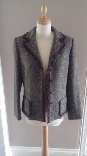 Jacket Wool Taille Blend Uk 10 Weill Ladies PqtwZxgP0