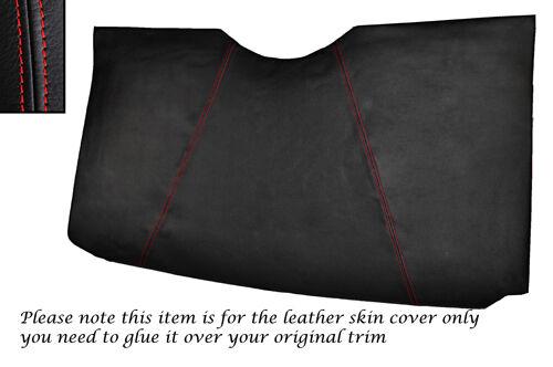 Red stitch fits triumph spitfire mk4 panneau arrière en cuir peau couvrir uniquement