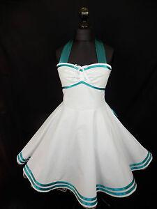 7408ca89ba08 Das Bild wird geladen 50er-Petticoat-Brautkleid-Tanz-Konfirmation-Abiball- Abend-Kleid-