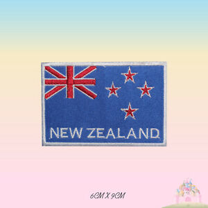 New-Zealand-National-Flag-Embroidered-Iron-On-Patch-Sew-On-Badge-Applique