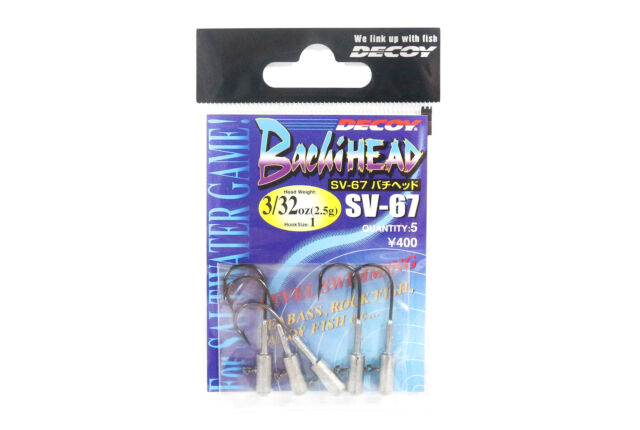 6166 3//32 oz Decoy SV-38 Jig Head Darting Violence Hook Size 4