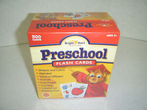 300-Preschool-Flash-Cards-Bright-Start-Letters-Counting-Animals-Shapes-Colors