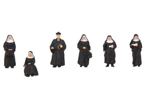 FALLER 150942 Nonnen und Pfarrer 6 Figuren H0