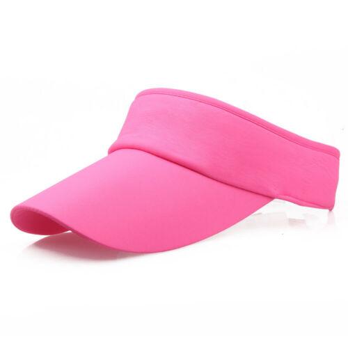Men Women Sport Headband Classic Sun Sports Visor Hats Cap Casual Sport Sun Caps