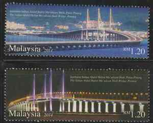491-MALAYSIA-2014-THE-SULTAN-ABDUL-HALIM-MU-039-ADZAM-SHAH-BRIDGE-SET-FRESH-MNH
