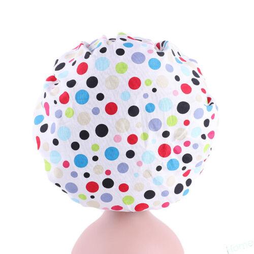 Elastic Printed Kids Girls Night Sleep Cap Head Cover Chemo Hair Care Bonnet Hat