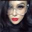XXL-OVERSIZED-Cat-Eye-MISS-GORGEOUS-Clear-Lens-Eyeglasses-Glasses-SHADZ thumbnail 2