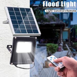 20LED-Solar-Panel-Power-Flood-Light-Outdoor-Garden-Street-Lamp-W-Remote