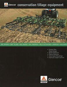 Agco Glencoe Prospekt 2002 Landmaschinen Conservation Tillage Equipment Brochure MöChten Sie Einheimische Chinesische Produkte Kaufen?