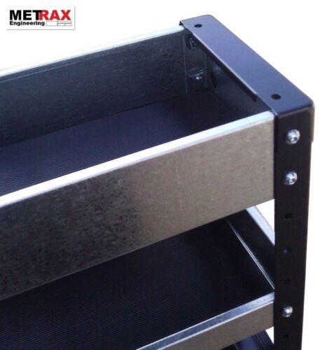 METRAX Pre-Cut Rubber inlay Shelf Mat Van Racking Suit 750w Shelving Units