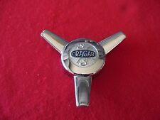 CRAGAR CLASSIC WHEELS S/S spinner Wheel Center Cap Chrome Finish E2046 NEW