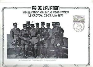 FEUILLET-PHILATELIQUE-SUR-L-039-AS-DE-L-039-AVIATION-RENE-FONCK