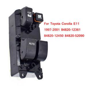 Black-High-grade-Car-Window-Control-Button-Control-Switch-for-Toyota-Corolla-E11