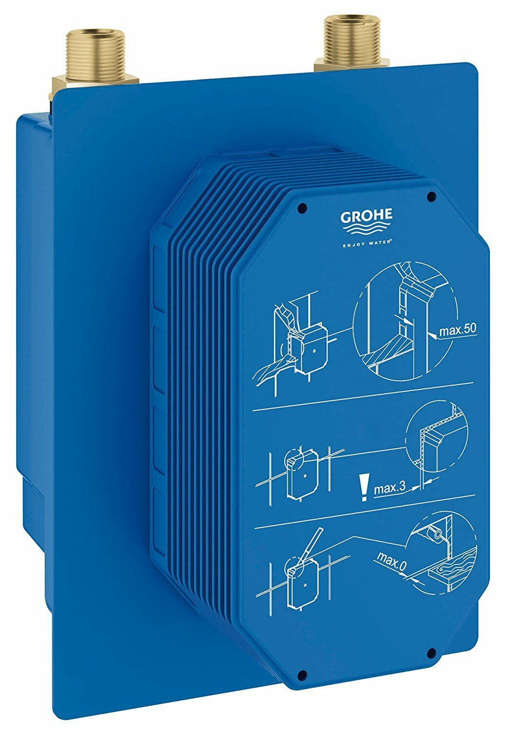 GROHE 36339000 Eurosmart Cosmopolitan E Concealed Mounting Box with Mixture