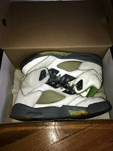 63bde09eab95 Nike Air Jordan 5 V Green Bean Retro (2006) - sz 11.5