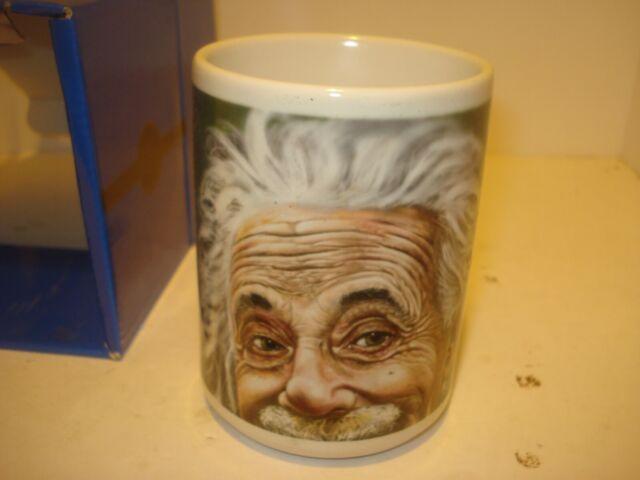 JAMES DANGER QUASAR COLOR 11 OZ COFFEE MUG DECOR ALBERT EINSTEIN PHYSICS THEORY!
