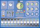 Mindmemo Lernposter - TIME - What's the time? - Die Uhrzeit auf Englisch lernen - Zusammenfassung von Fischer Henry und Hunstein Philipp (2014, Buch)