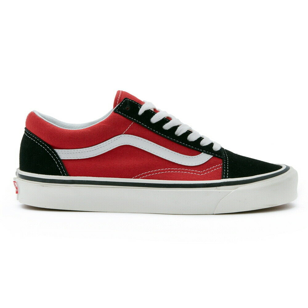 New Vans Old Skool 36 DX Anaheim Factory OG Black Red Sneakers shoes 2019