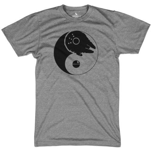 Han light side dark side yin yang shirt movie tees