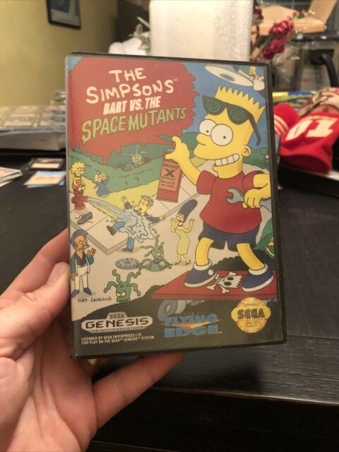 Simpsons: Bart vs. The Space Mutants (Sega Genesis, 1992)