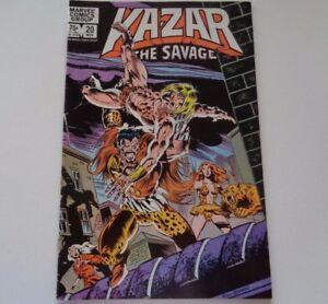 Marvel-Comics-Kazar-The-Savage-Vol-1-No-20-November-1982
