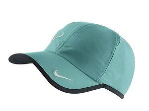 83d6b5e068329 NEW! Green White NIKE Rafa Nadal Bull Adult FEATHERLIGHT Tennis DRI ...