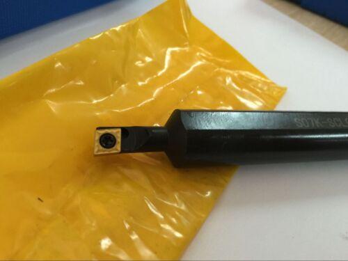 S07K-SCLCR06-16 7×125mm SCLCR cnc tool lathe holder for CCMT060202//04//08 INSERT