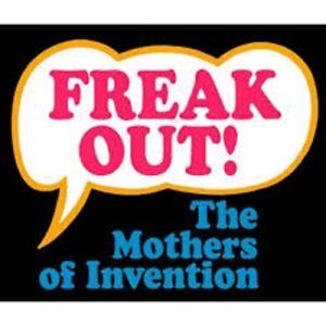 Obligeant Frank Zappa Patch Toppa Freak Out Official Merchandise