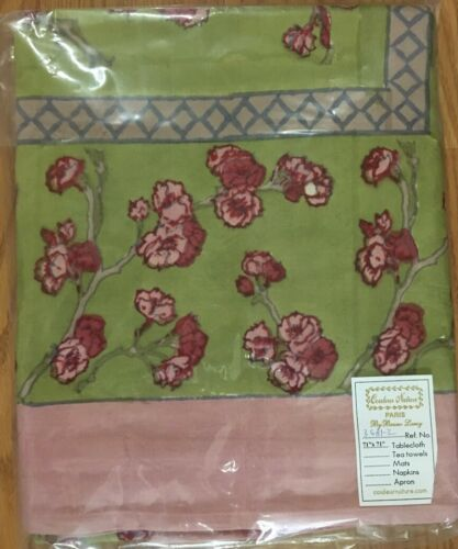 Couleur Nature Cherry Blossoms Tablecloths Runners Placemats Tea Towels NIP