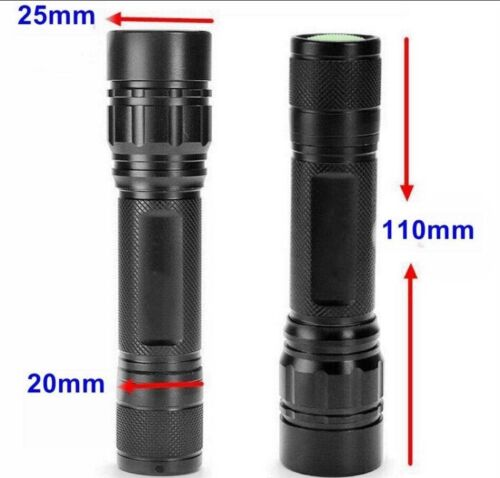 UltraFire 18650 Flashlight Zoomable 30000LM 3Mode Tactical LED T6 LED Torch Lamp