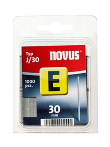 1000x   NOVUS Nägel E J//30-30 mm für Tacker Nagler 044-0066 für j-170 171 etc